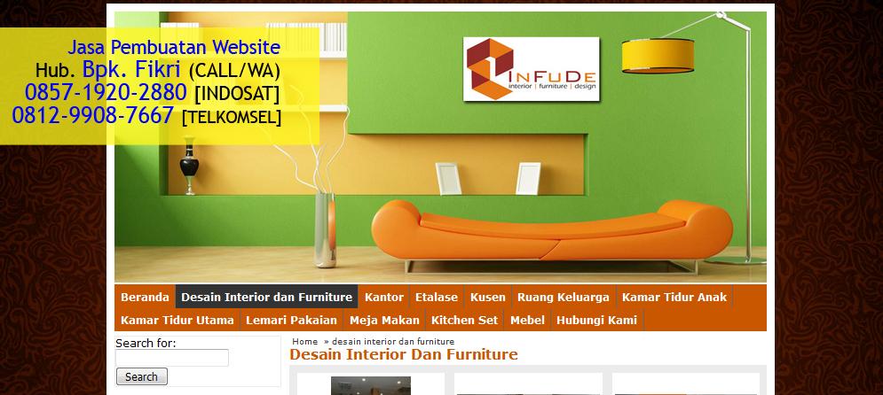 Jasa Interior Furniture Design